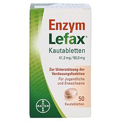 Enzym Lefax 50 Stück - Vorderseite