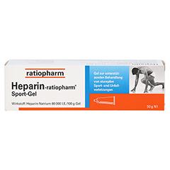 Heparin-ratiopharm Sport 50 Gramm N1 - Vorderseite