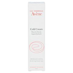 AVENE Cold Cream Lippenbalsam 15 Milliliter - Vorderseite