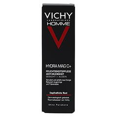 Vichy Homme Hydra Mag C+ Feuchtigkeitspflege Anti-Müdigkeit 50 Milliliter - Vorderseite