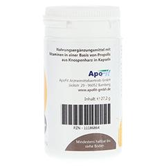 PROPOLIS IMMUNO Forte+Vitamine Kapseln MediFit 60 Stück - Linke Seite