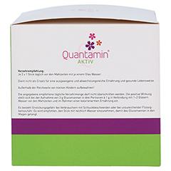 QUANTAMIN Aktiv Sticks mit Zitrusgeschmack 60 Stück - Linke Seite