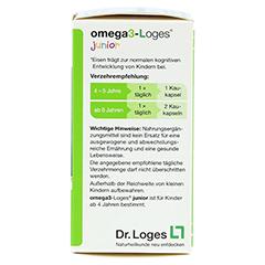 OMEGA3-Loges junior Kaudragees 60 Stück - Rechte Seite
