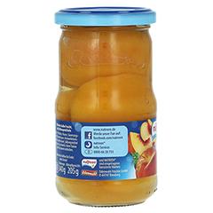 NATREEN Obstkonserve Pfirsiche halbe Frucht 370 Milliliter - Rechte Seite