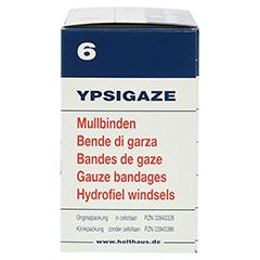 YPSIGAZE Mullbinde 6 cmx4 m 20 Stück - Rechte Seite