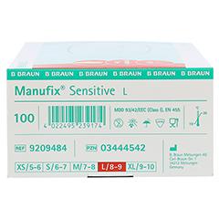 MANUFIX sensitive Unters.Handschuhe pf groß 100 Stück - Rechte Seite
