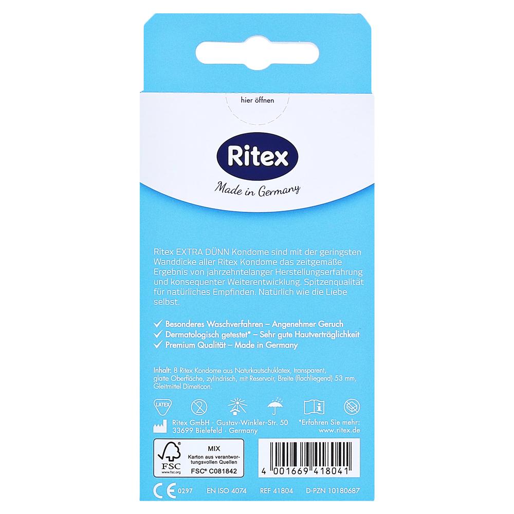 RITEX extra dünn Kondome 8 Stück online bestellen  medpex