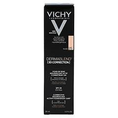 VICHY DERMABLEND 3D Make-up 25 30 Milliliter - Rückseite
