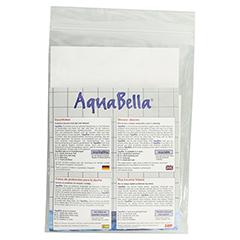 AQUABELLA Duschfolie B Bein kurz/Arm lang 2 Stück - Rückseite