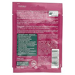 KNEIPP Aroma Pflegeschaumbad glückliche Auszeit 50 Milliliter - Rückseite