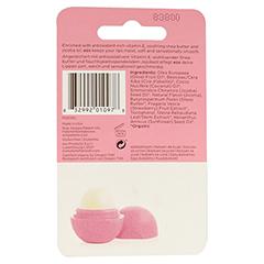 EOS Organic Lip Balm strawberry sorbet Blister 1 Stück - Rückseite