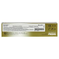 DERMATIX Gel 60 Gramm - Rückseite