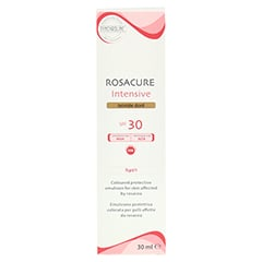 SYNCHROLINE Rosacure dore Creme 30 Milliliter - Rückseite