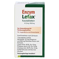 Enzym Lefax 50 Stück - Rückseite