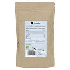 FLOHSAMENSCHALEN gemahlen Bio Pulver 400 Gramm - Rückseite