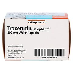 Troxerutin-ratiopharm 300mg 50 Stück - Oberseite