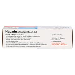 Heparin-ratiopharm Sport 50 Gramm N1 - Oberseite