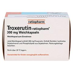 Troxerutin-ratiopharm 300mg 50 Stück - Unterseite