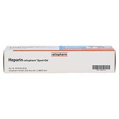 Heparin-ratiopharm Sport 100 Gramm N2 - Unterseite