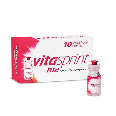 VITASPRINT B12 Trinkfläschchen 10 Stück
