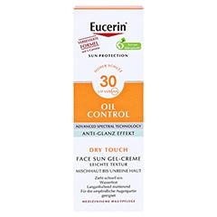 Eucerin Sun Gel-Creme Oil Control LSF 30 + gratis Eucerin After Sun 50 ml 50 Milliliter - Vorderseite