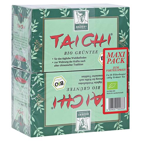 TAI CHI Bio Grüntee Maxi Filterbeutel 40 Stück