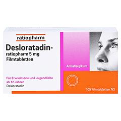 Desloratadin-ratiopharm 5mg 100 Stück N3 - Vorderseite