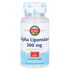 ALPHA LIPONSÄURE 300 mg Kapseln 60 Stück