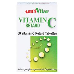 VITAMIN C RETARD Tabletten mit Depotwirkung 60 Stück - Vorderseite