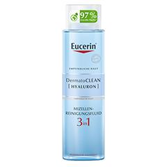EUCERIN DermatoCLEAN Hyal.Miz.Reinigungsfluid 3in1 400 Milliliter