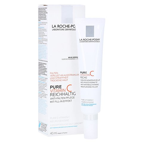 La Roche-Posay Pure Vitamin C Anti-Falten-Creme 40 Milliliter