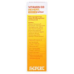 VITAMIN D3 HEVERT 1.000 I.E. Spray 30 Milliliter - Rückseite
