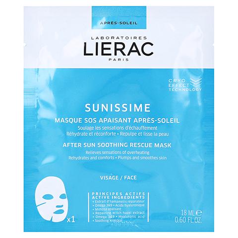 LIERAC Sunissime beruhigende After Sun SOS Maske 1x18 Milliliter