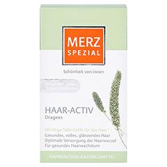 MERZ Spezial Haar-activ Dragees 120 Stück - Vorderseite