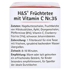 H&S Früchte mit Vitamin C Filterbeutel 20x2.7 Gramm - Linke Seite
