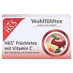 H&S Früchte mit Vitamin C Filterbeutel 20x2.7 Gramm - Vorderseite