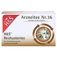 H&S Reizhustentee Filterbeutel 20x2.5 Gramm - Vorderseite
