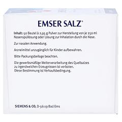 Emser Salz im Beutel 2,95g 50 Stück N2 - Rechte Seite