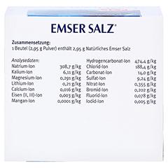 Emser Salz im Beutel 2,95g 50 Stück N2 - Linke Seite