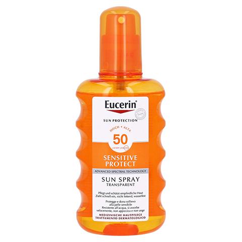 Eucerin Sun Transparent Spray LSF 50 200 Milliliter