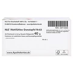 H&S Granatapfel Filterbeutel 20x2.0 Gramm - Unterseite