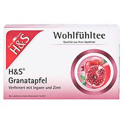 H&S Granatapfel Filterbeutel 20x2.0 Gramm - Vorderseite