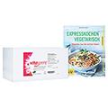 VITASPRINT B 12 Trinkfläschchen + gratis Vitasprint GU Buch vegetarisch Kochen 100 Stück