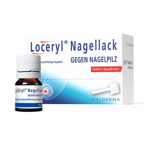 Loceryl gegen Nagelpilz 5 Milliliter