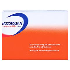 Mucosolvan Lutschpastillen 15mg 40 Stück N2 - Rückseite