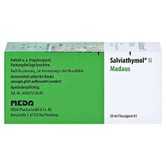 Salviathymol N Madaus 20 Milliliter N1 - Rechte Seite