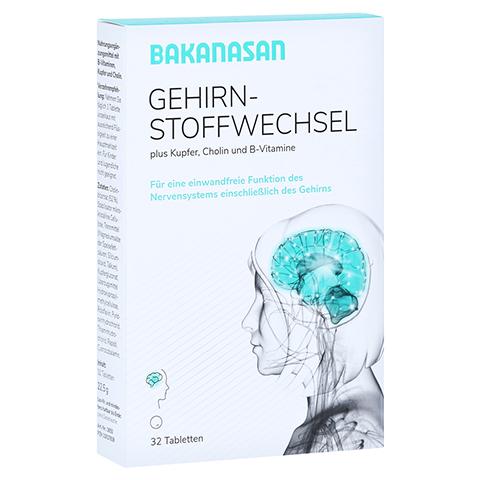 BAKANASAN Gehirnstoffwechsel Tabletten 32 Stück