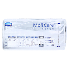 MOLICARE Premium Elastic Slip 10 Tropfen Gr.L 4x14 Stück - Oberseite