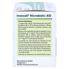 INNOVALL Microbiotic AID Pulver 28x5 Gramm - Linke Seite