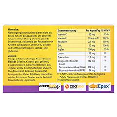 CENTROVISION Lutein 15 mg Kapseln 30 Stück - Rückseite